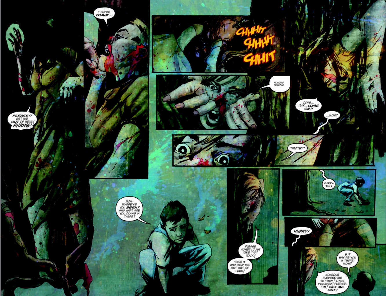 Wytches planche 1